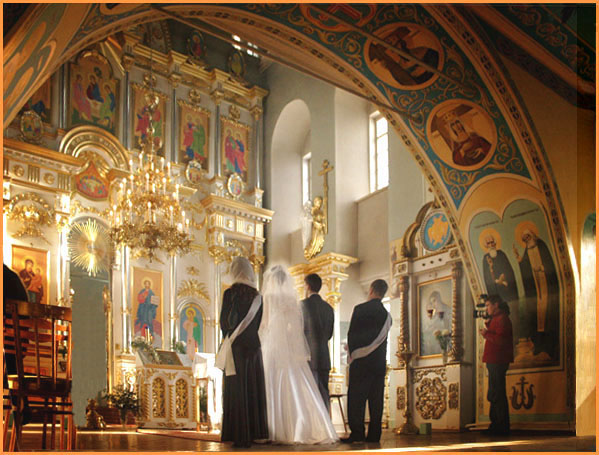 orthodox sacrament of marriage exchange of the rings essay The orthodox sacrament of marriage actually consists of two parts: the exchange of rings and the crowning betrothal the exchange of the rings this first part of the wedding service can be equated with the 'civil service' it takes place in the vestibule (entry) of the church that area seen by the church as the closest to the 'outside' world.