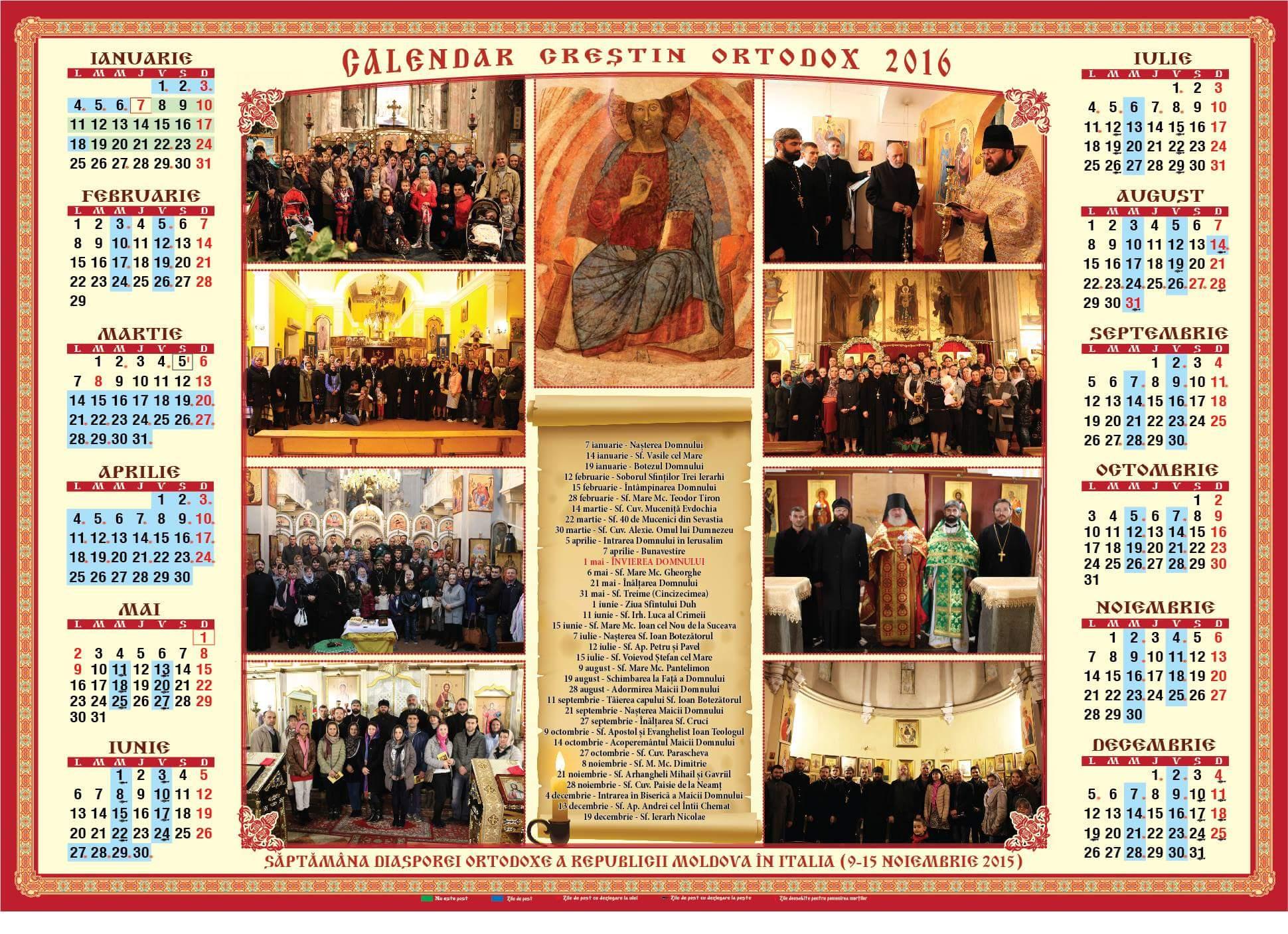 Calendario Rumeno.Parrocchia Ortodossa Il Blog Del Parroco