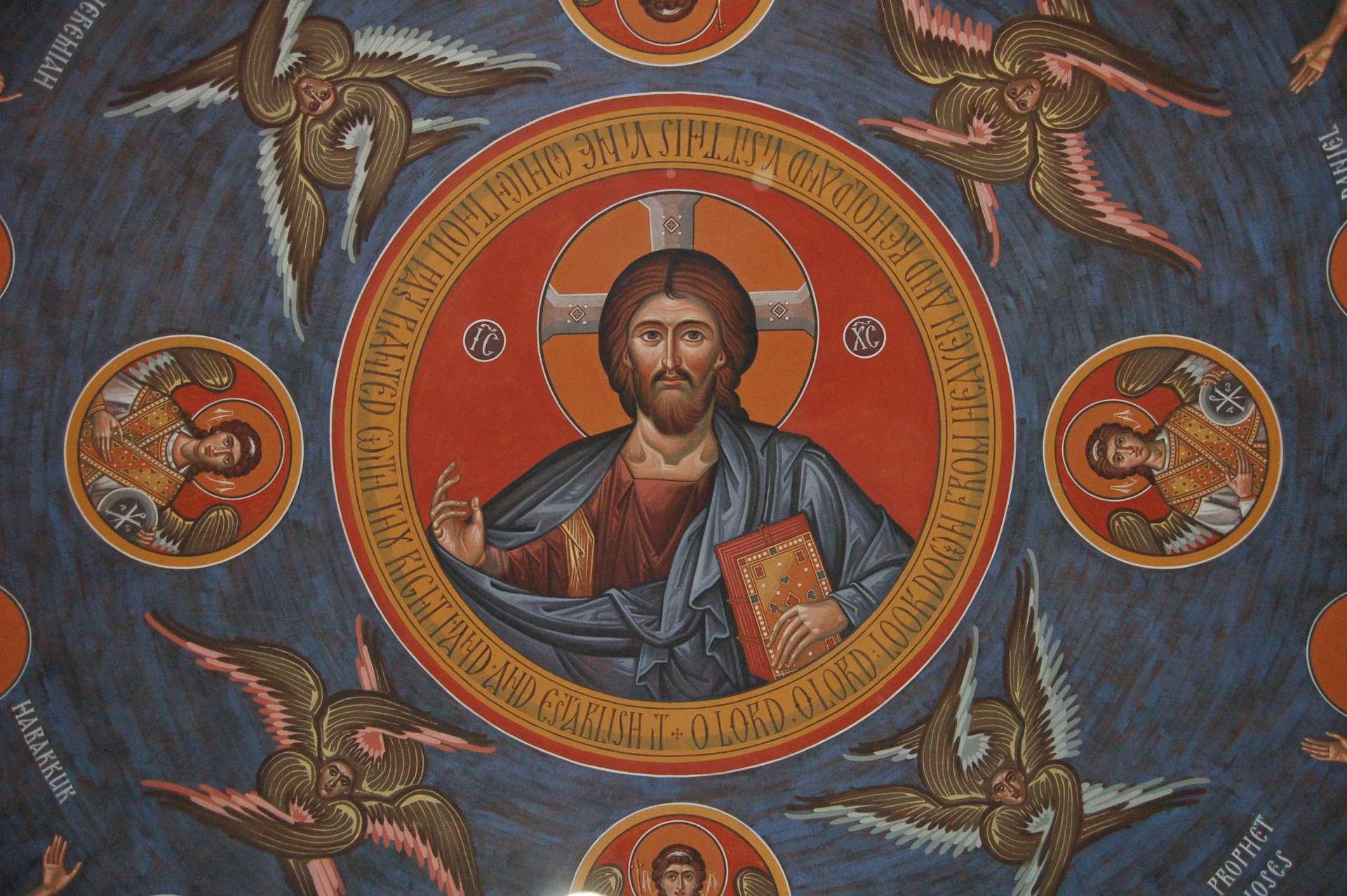 BENEDETTO Xenia di Pietroburgo ortodosso BENEDETTO ICONA laminato