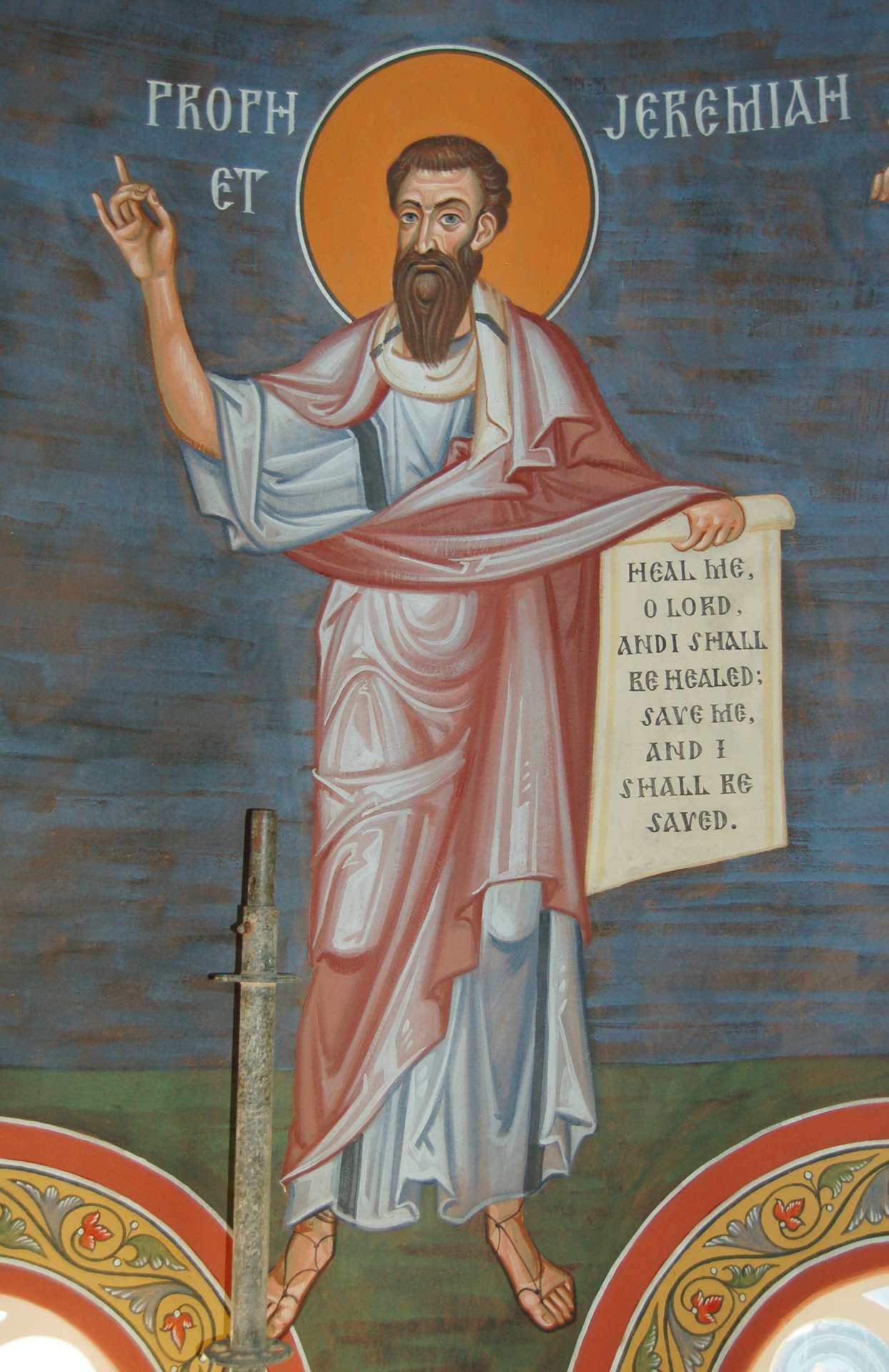 Risultati immagini per icone profeta geremia